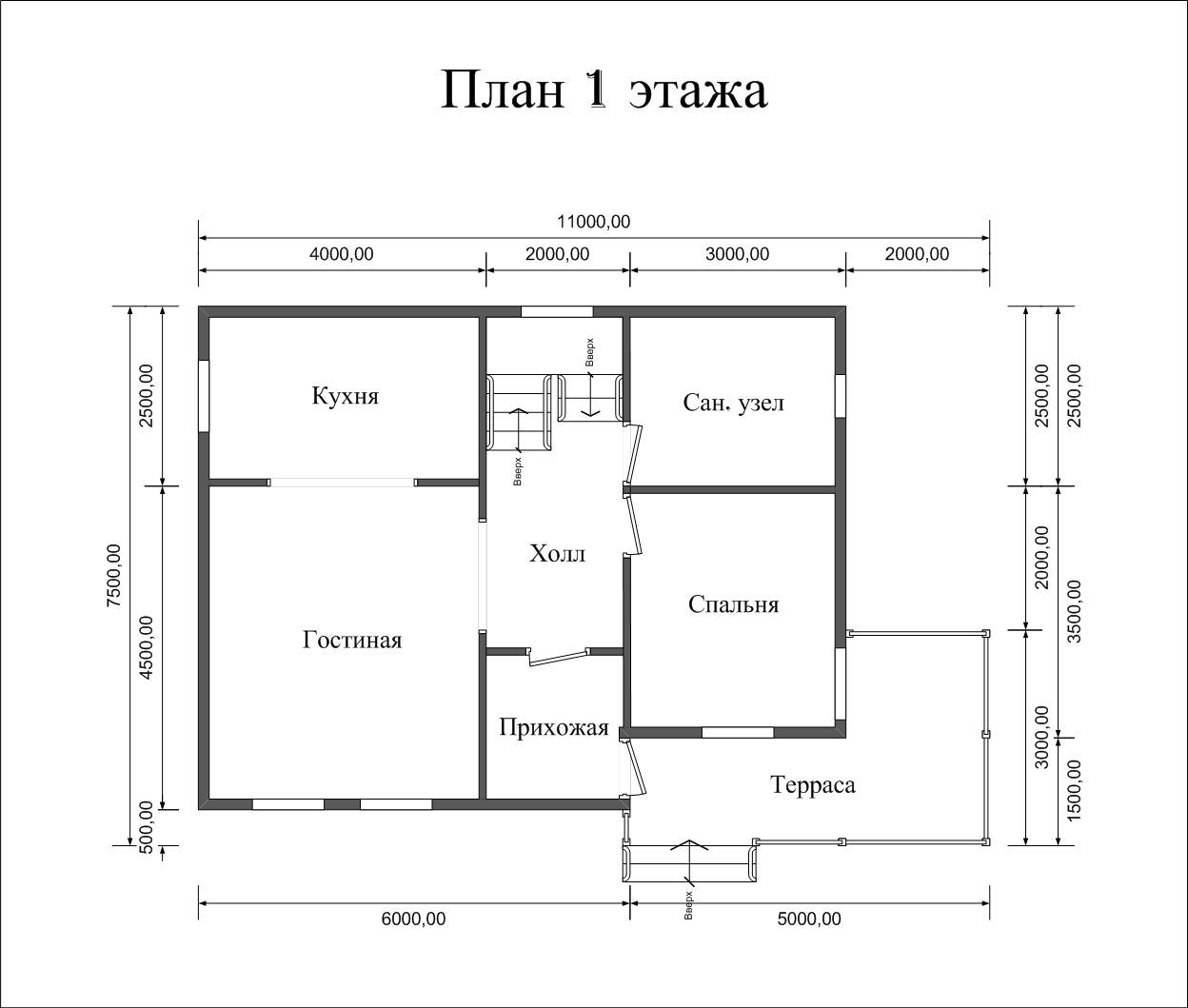 "Проект дома ""Раума"" - фото 5"