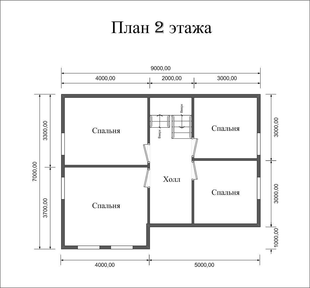 "Проект дома ""Раума"" - фото 6"