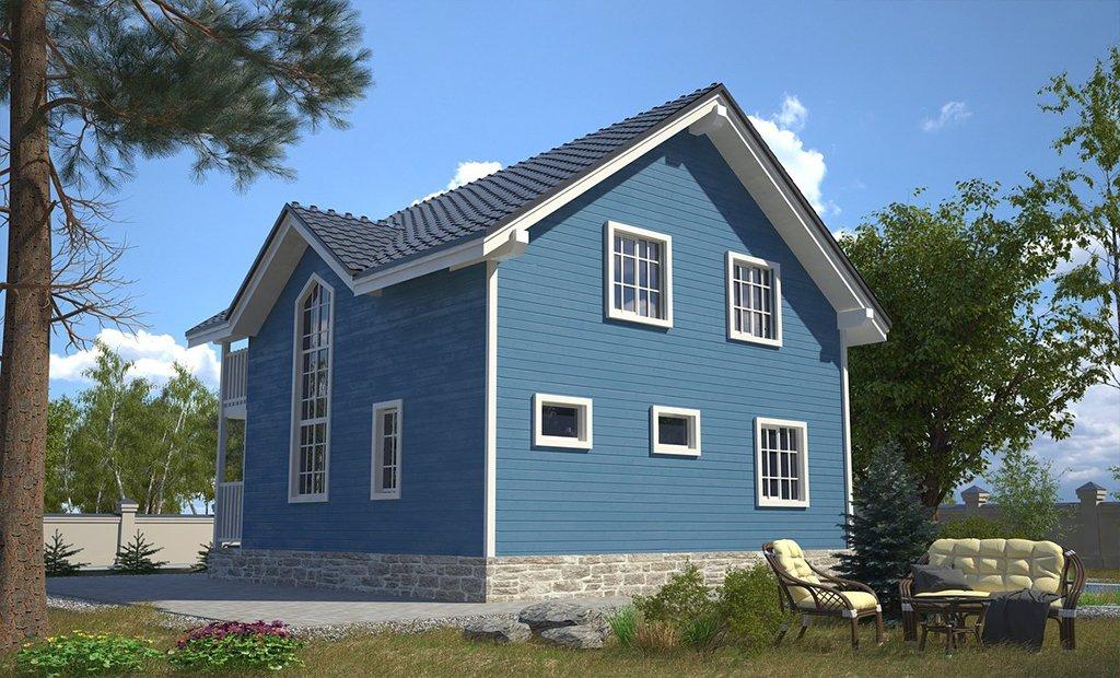 """Проект дома """"Кингстон"""" - фото 3"""