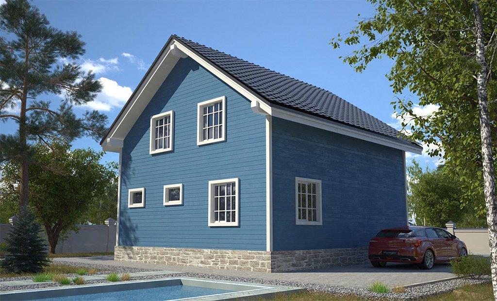 """Проект дома """"Кингстон"""" - фото 4"""