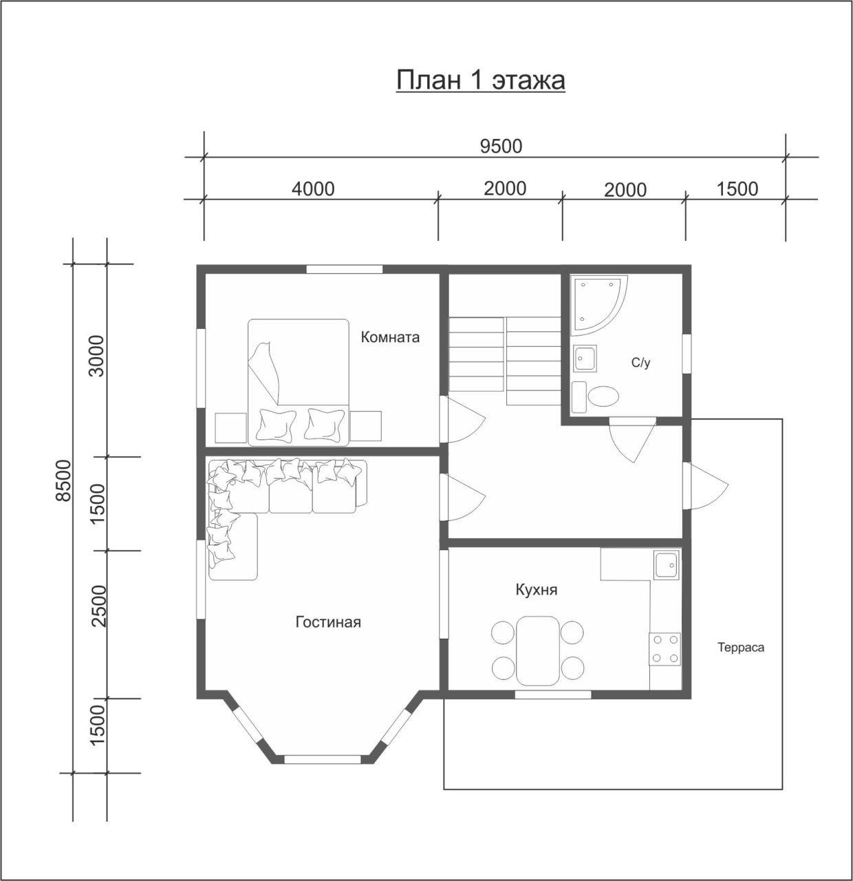 """Проект дома """"Нильсия"""" - фото 5"""