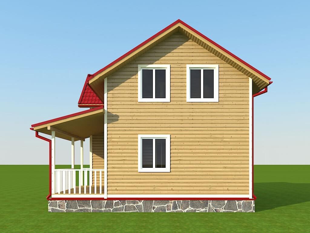 """Проект дома """"Альберта"""" - фото 4"""
